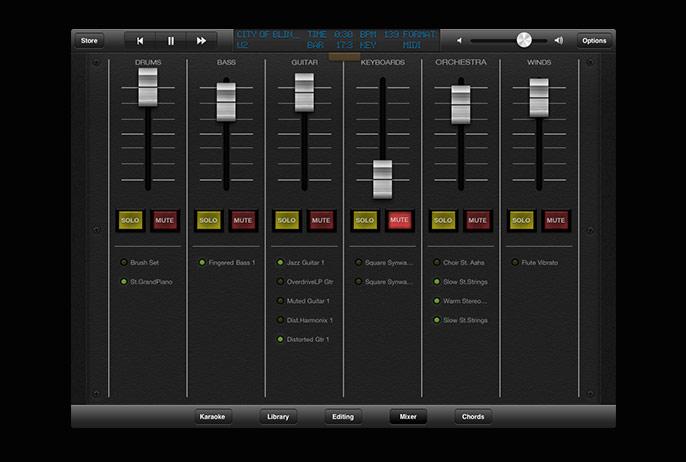 Grinta Karaoke for iPad